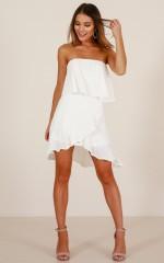 One Last Dance dress in white