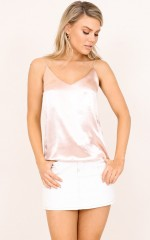 Something Divine top in blush