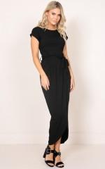 Boss Material dress in black