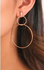 You Deserve It earrings in gold
