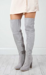 Billini - Lara in grey suede