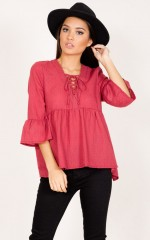 A New Day top in wine