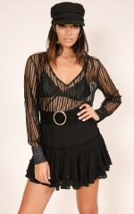 Ace Hotel blouse in black