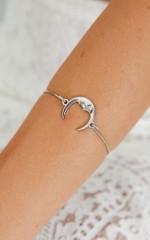 Shine Through The Skies bracelet in silver
