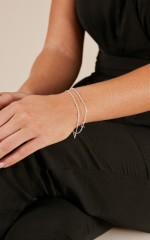 True Elegance bracelet in silver