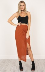 Alana skirt in rust