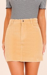 All My Secrets skirt in beige