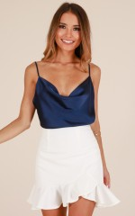 All The Same top in navy