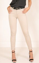 At My Best jeans in beige