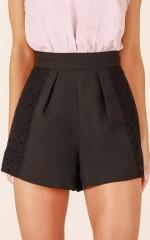 Better Lovin shorts in black