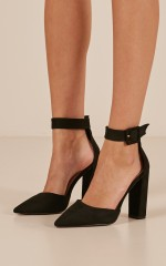 Billini - Gracie in black suede