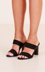 Billini - Khloe in black suede