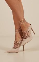 Billini - Lenita heels in nude micro