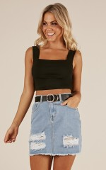 Bonbon Top in Black