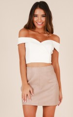 Catwalk Top in White