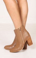 Billini - Charli Boots in dark taupe