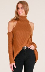Come Around knit in camel