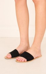 Billini - Crete in black suede