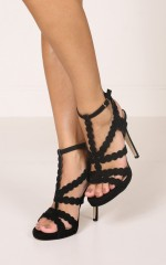 Billini - Daria in black suede