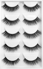 Dramatic Volume lashes in black - 5 PC