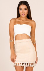 Dream Life skirt in Beige