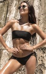 Enchanted Islands Bikini Set in Black