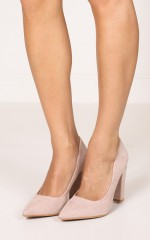 Billini - Elli in blush suede