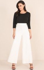 Engaging Pant in White