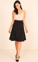 The Exchange Skirt in Black