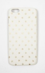 Reach For The Stars iphone 6 cover in white and gold