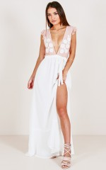 From A Ten Maxi Dress in White