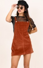 Go Astray overalls in tan