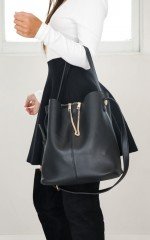Great Day Bag in black