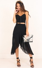 In The Meadow Skirt in Black