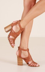Verali - Jaz Heels in tan