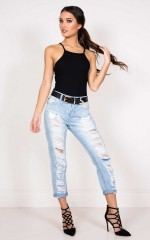 Just How It Is jeans in light wash