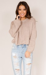 Kiss The Sun Knit in mocha