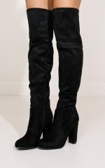 Billini - Lara in black suede