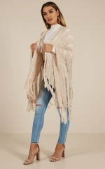Lead Me On knit cardigan in cream