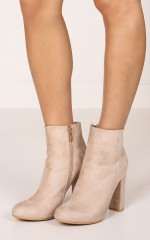 Billini - Lottie in stone suede