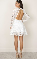 Have My Heart Dress in white