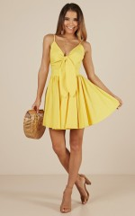 Loving You Sweetly dress in  yellow