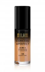 Milani - Conceal And Perfect 2-in-1 Foundation in golden tan