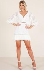 My Sunshine dress in white