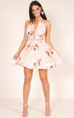 Need Nobody dress in blush floral