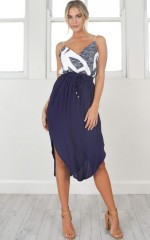 Busy Busy Skirt in navy