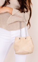 Inclination Bag in Beige