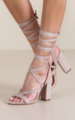 Billini - Preen in Nude Suede