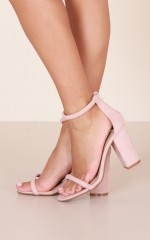 Billini - Quatro in blush suede