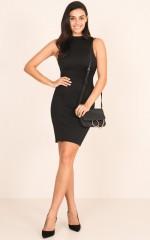 Radar Dress in Black